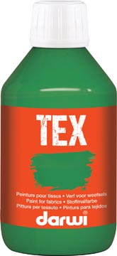 Darwi textielverf Tex, 250 ml, donkergroen