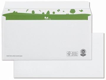 Bong enveloppen beECO, ft 110 x 220 mm, zonder venster, doos van 500 stuks