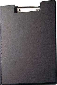 Maul klemmap met insteekmap, uit PP, voor ft A4, zwart