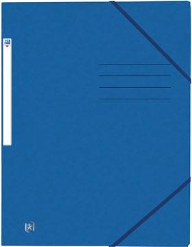 Oxford Top File+ elastomap, voor ft A4, blauw