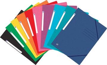 Oxford Top File+ elastomap, voor ft A4, geassorteerde kleuren