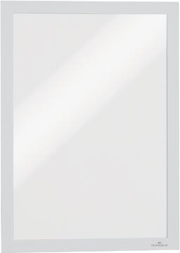 Durable Duraframe informatiekader met magnetische rand, A4, wit, pak van 2