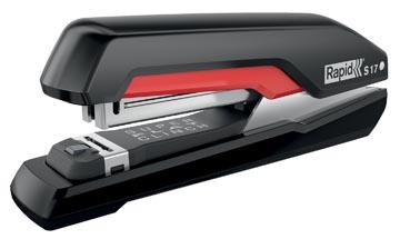 Rapid Nietmachine S17 30 blad zwart
