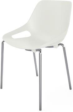 EOL bezoekersstoel Rosalie, wit