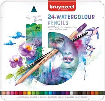 Bruynzeel aquarel potloden Expression, doos van 24 stuks