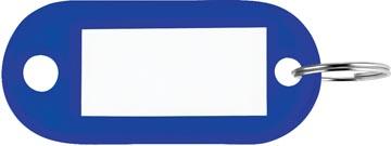 Sleutelhanger blauw, doos van 100 stuks