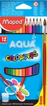 Maped Aquarelpotlood Color'Peps Aqua 12 potloden