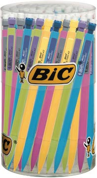 Bic vulpotlood Matic Fun, in geassorteerde kleuren, display van 60 stuks