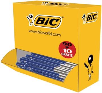 Bic balpen M10 Clic voordeelpak blauw