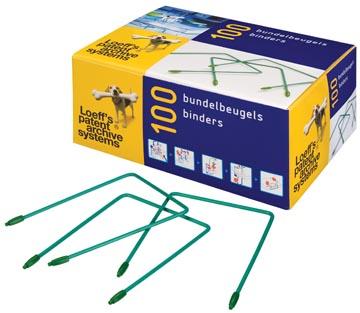 Loeff's bundelbeugel lengte: 100 mm, doos van 100 stuks