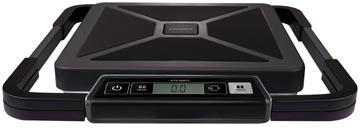 Dymo pakketweegschaal S50, weegt tot 50 kg, gewichtsinterval van 100 gram