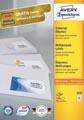 Avery Zweckform 3420, Universele etiketten, Ultragrip, wit, 100 vel, 51 per vel, 70 x 16,9 mm